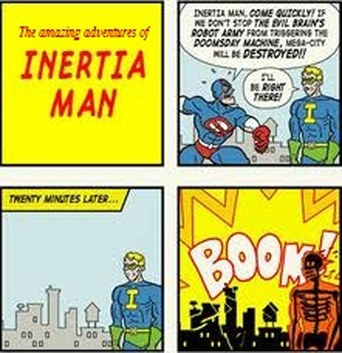 The Amazing Adventures of Inertia Man!